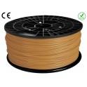 FIL imprimante 3D ABS 1.75 mm couleur OR 1kg CE-ROHS