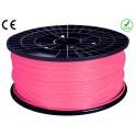 FIL imprimante 3D ABS 1.75 mm couleur ROSE 1kg CE-ROHS