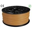 FIL FILAMENT imprimante 3D PLA 3 mm couleur OR 1kg CE-ROHS