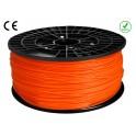 FIL FILAMENT imprimante 3D PLA 3 mm couleur ORANGE 1kg CE-ROHS