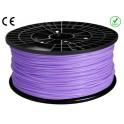 FIL imprimante 3D PLA 1.75 mm couleur VIOLET 1kg CE-ROHS