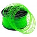 FIL imprimante 3D PLA 1.75 mm couleur VERT TRANSPARENT 1kg CE-ROHS