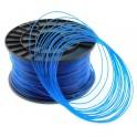 FIL imprimante 3D PLA 1.75 mm couleur BLEU TRANSPARENT 1kg CE-ROHS