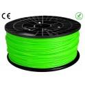 FIL imprimante 3D ABS 1.75 mm couleur VERT CLAIR 1kg CE-ROHS