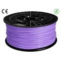 FIL FILAMENT imprimante 3D PLA 3 mm couleur VIOLET 1kg CE-ROHS