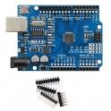 Carte UNO R3 compatible ARDUINO ATmega328P + CH340G+connecteur